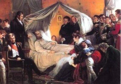 Charles de Seuben, Moartea lui Napoléon la Sfanta Elena