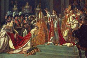David – Încoronarea lui Napoléon (detaliu)