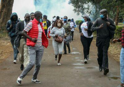manifestanti Nairobi