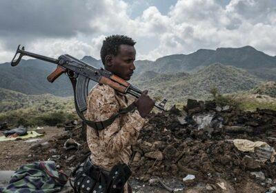 soldat etiopian