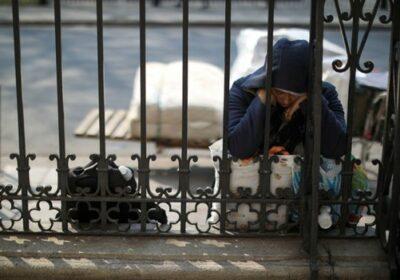 om fără adăpost Buenos Aires