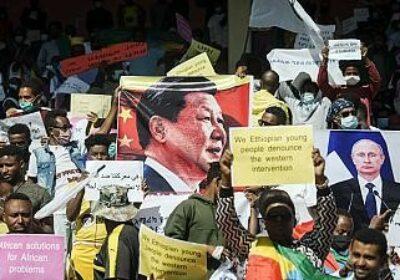 protestatari pro China