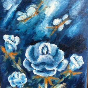 Dragan -flori-albastre-