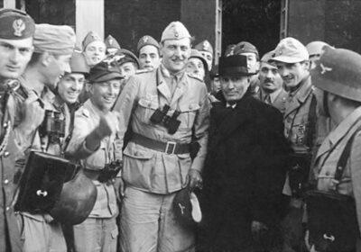 Skorzeny și Mussolini