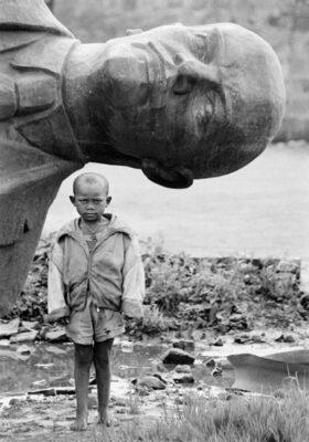 statuie Lenin în Etiopia