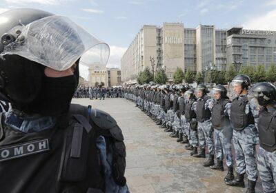 Trupele OMON, unități speciale ale Gărzii Naționale a Rusiei